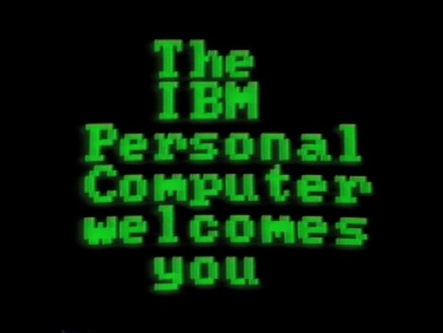 The IBM Personal Computer Welcomes You
